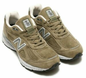 online store 57454 524f1 Details about New Balance 990v4 Made In USA # M990CG4 Khaki Olive Green Men  SZ 8 - 13