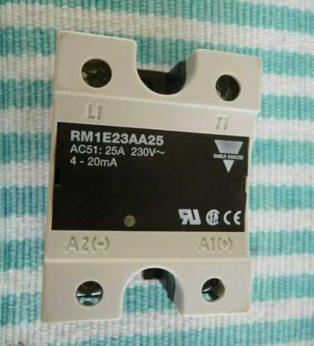 Details about  /Carlo Gavazzi Solid State Relay RM1E23AA25