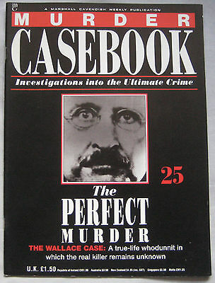 Murder Casebook Issue 25 - Perfect Murder The Wallace Case