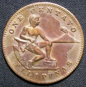one centavo coin philippines 1944