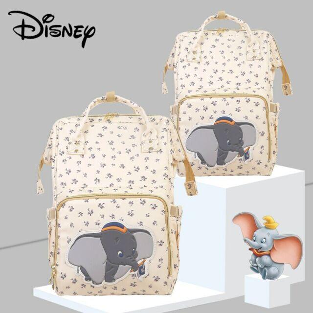 Nursing Bags On Wheels >> Disney Beige Cute Dumbo Diaper Bag Waterproof Backpack Mom Travel Nursing Bags