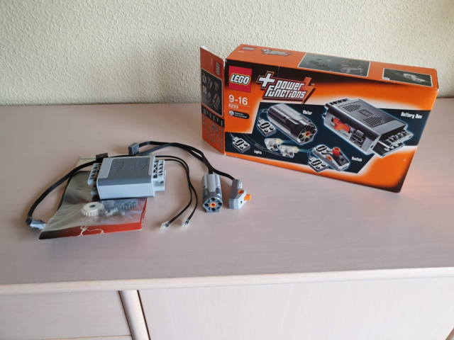 Lego Technic, 8293, Lego Technic 8293 Power Functions sæt.…