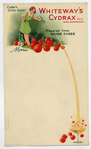 c1900-Whiteway-039-s-Cydrax-Cider-original-menu-card-temperance