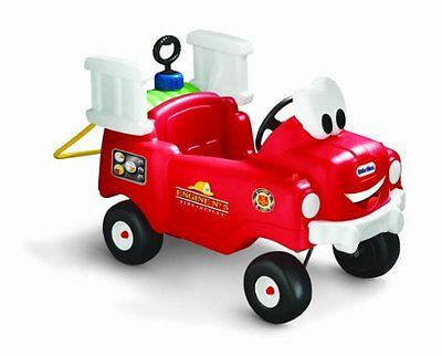 Little Tikes Spray & Rescue Fire Truck Ride On Car Toy