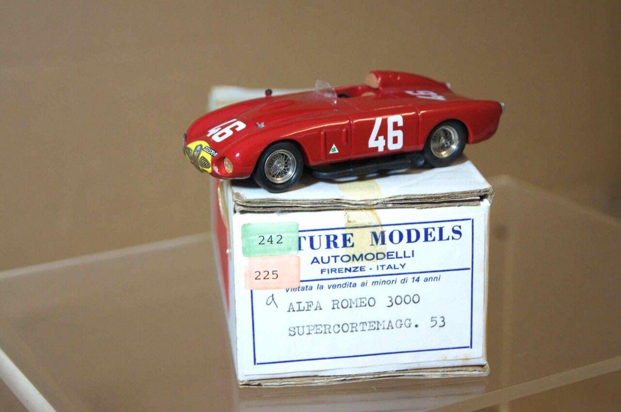 Futura modelloli 1953 Alfa Romeo 3000 cm Ragno Gp 46 Ar