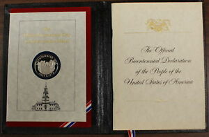 1976-Official-Bicentennial-Day-Commemorative-Silver-Medal-and-Signature-Book