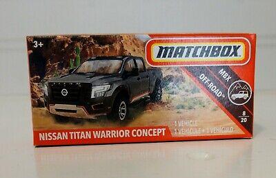 Nissan Titan Warrior Concept 2019 Matchbox Power Grabs Case G