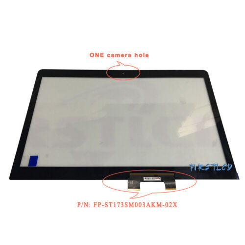 HP ENVY NOTEBOOK M7-U109DX Touch Digitizer Screen Glass Replacement //Black Cable