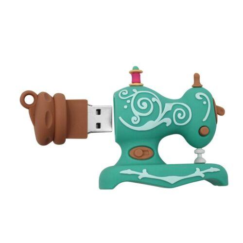 New Sewing Machine Model 16//32//64GB Pendrive USB Flash Drive Memory Student Gift