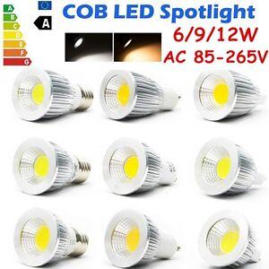 MR16-GU10-E27-E14-LED-6W-9W-12W-Spot-Luces-Downlight-COB-Bombilla-Lampara-AC110-220V