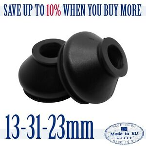 2-X-UNIVERSAL-Silicone-13-31-23-Tie-Rod-End-and-Ball-Joint-Dust-Boots-Cover