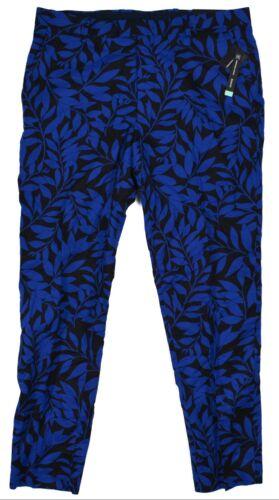 Inc #6995 NEW Men/'s Flat Front Slim Fit Milan Leaf-Print Straight Leg Pants