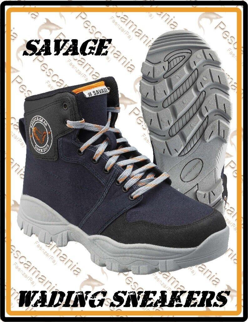 Svoiturepone da wader Savage Gear paniers Wading chaussures gomma