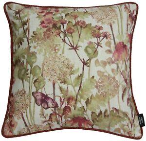McAlister-Textiles-Wildflower-Orange-Vintage-Soft-Floral-Flower-Print-Cushion