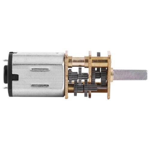 10//15//20RPM DC 6V Elektro Getriebemotor Micro Reduzieren Motor 1:1000 Modellbau☜