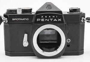 Asahi-Pentax-SP-Spotmatic-Body-SLR-Kamera-analoge-Spiegelreflexkamera