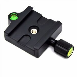 Adapter-Mount-Quick-Release-Clamp-QR-Plate-For-Camera-Tripod-Head-Monopod