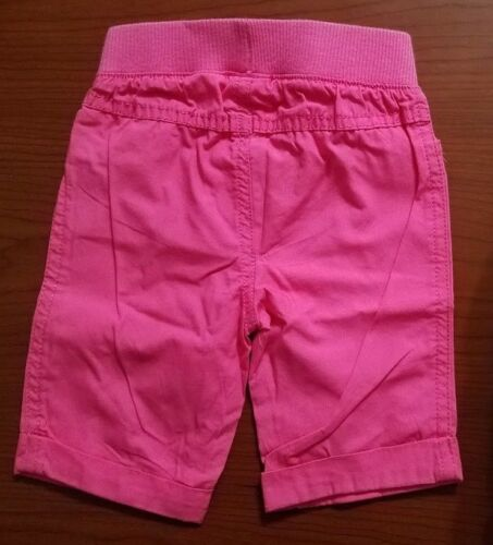 NEW JUMPING BEANS BABY GIRLS CAPRIS DARK PINK SIZE 12 MONTH 18 MONTH