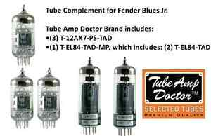 PREMIUM-Tube-set-for-Fender-Blues-Jr-electric-guitar-amplifier-TUBE-AMP-DOCTOR