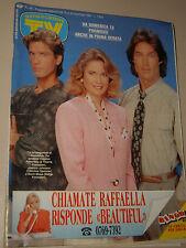TV SORRISI CANZONI=1990/46=RONN MOSS JOANNA JOHNSON NORCROSS BEAUTIFUL SOAP OPER