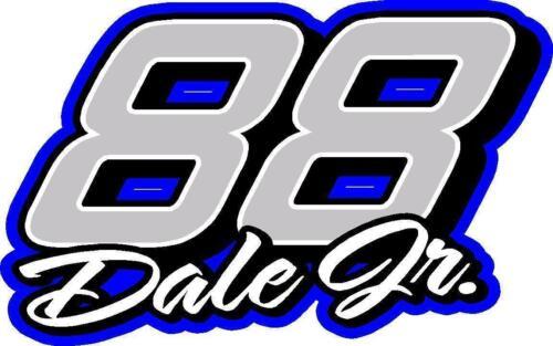 88 Dale Earnhardt Jr 2017 Nascar decal sticker