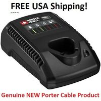 Porter Cable 12v Max Li-ion 12 Volt Fast Battery Charger Pcl12c Genuine Sealed