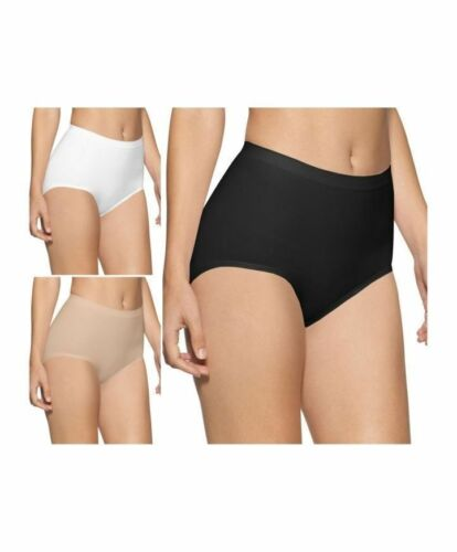 PACK OF 1 /& 2 LADIES MAXI SEAMLESS LIGHT CONTROL BRIEFS//KNICKERS SIZE 8-30