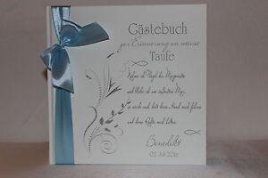 Hardcover-Gaestebuch-zur-Taufe-Taufgeschenk-Taufbuch-weiss-hellblau