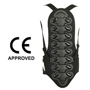 Motorcycle Back Protector Motocross Skating Snow Body Armour Guard Black M - London, United Kingdom - Motorcycle Back Protector Motocross Skating Snow Body Armour Guard Black M - London, United Kingdom