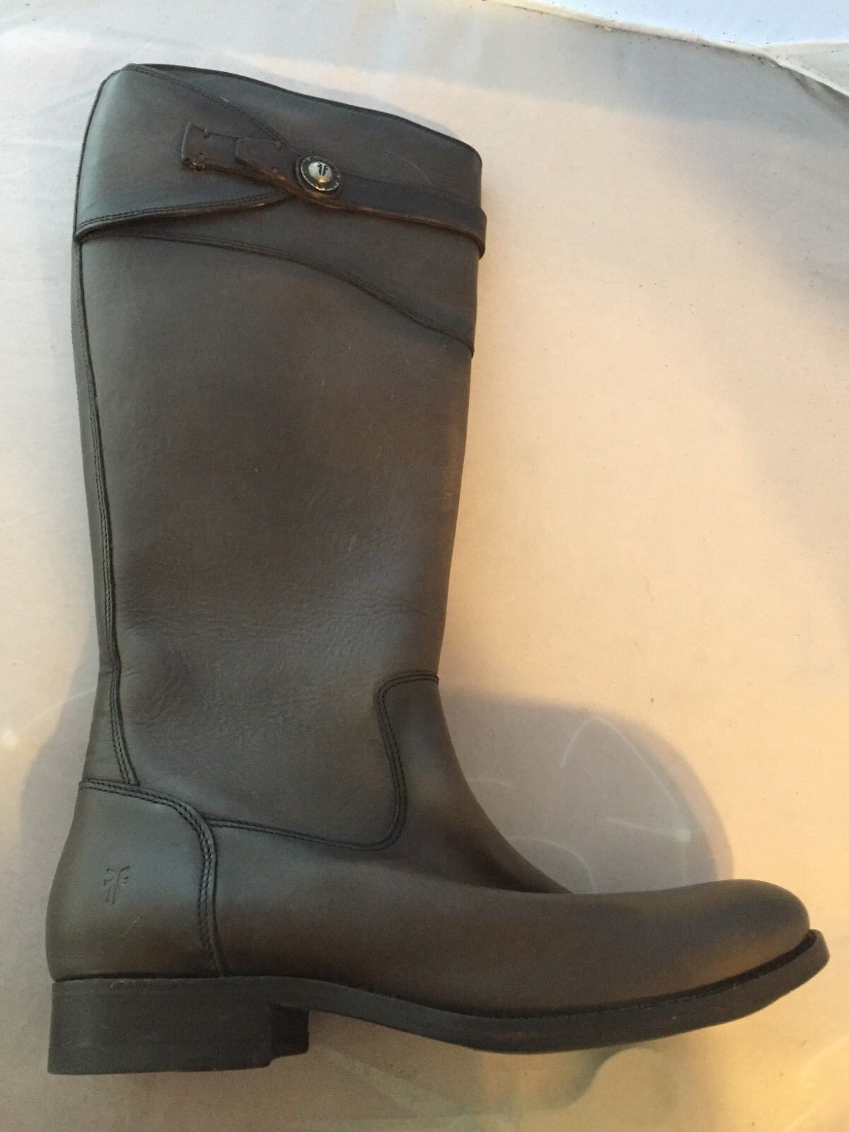 NEW Frye Molly Button braun Leather, Tall Knee High Stiefel, damen Größe 6,   398