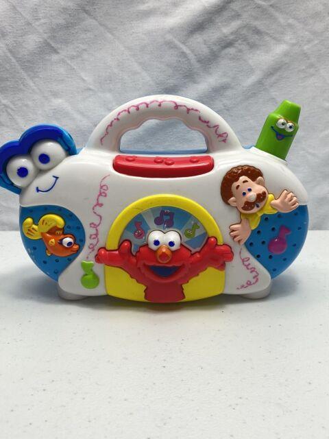 Mattel Sesame Street ELMO'S WORLD Music Radio Boombox ...