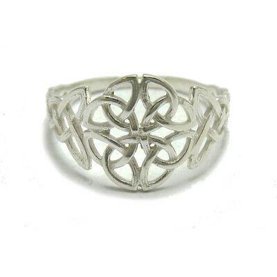 Sterling silver ring solid 925 Jaws R000283 Empress