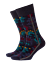 thumbnail 1 - Discount-30-BURLINGTON-Socks-Flower-Camo-20579-Sock-Short-Tights-Blue-Fashion
