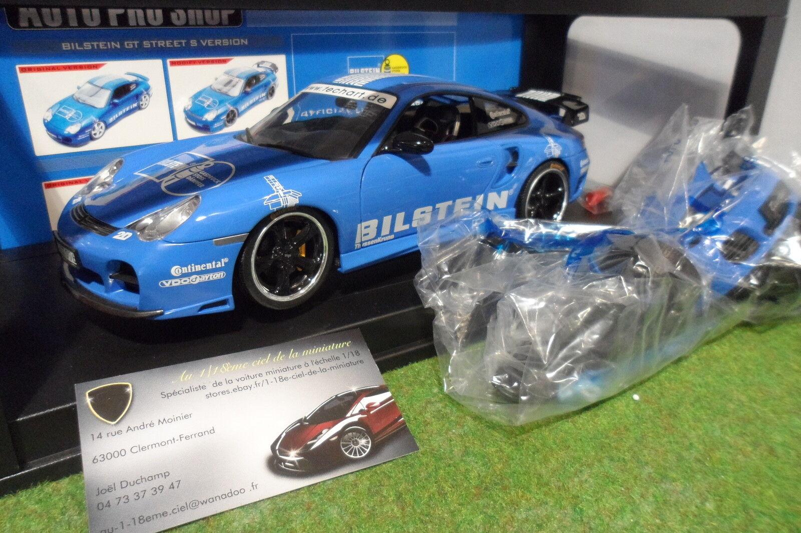 PORSCHE 911 Turbo 996 BILSTEIN o 1 18 AUTO PRO SHOP voiture miniature collection