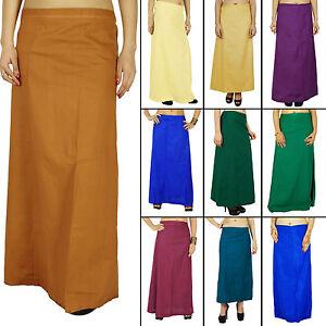 Sari-Enagua-Falda-Enagua-Indio-sari-de-algodon-inskirt-innerwear-PTC100A