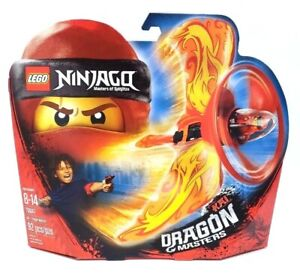 Lego 70647 Ninjago Kai Dragon Masters Of Spinjitzu 92pc NEW Air Spinner