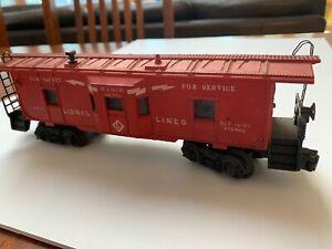 POSTWAR-O-6517-6-Lionel-Lines-BLT-12-55-Lionel-Train-Car