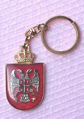 THE REPUBLIC OF SERBIA  - SERBIAN COAT OF ARMS PENDANT