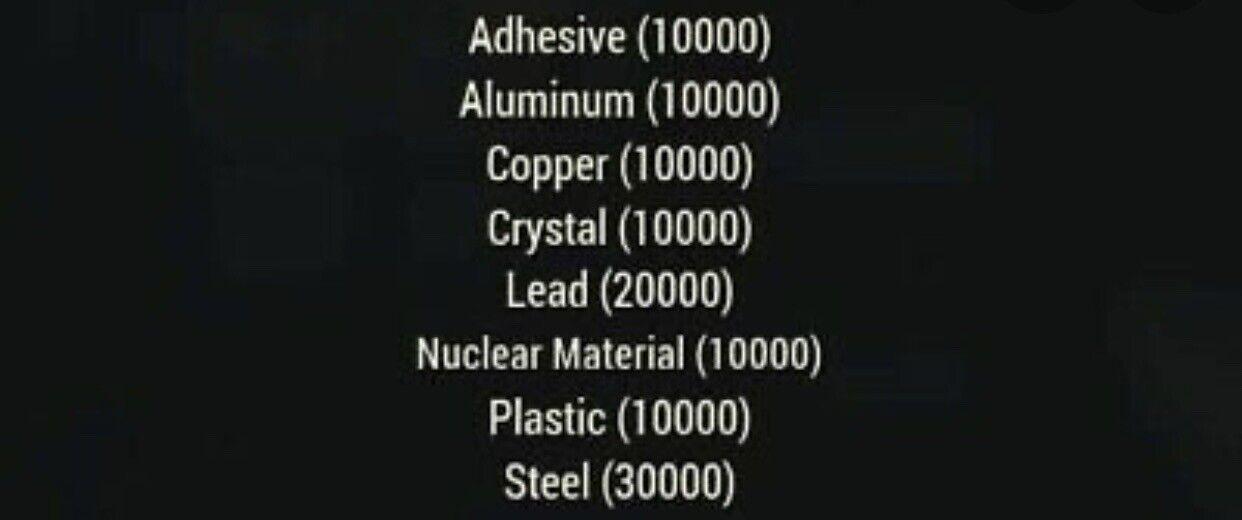 Bulk Ammo Scrap Bundle Fallout 76 (XB1)