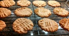 Gluten Free Peanut Butter Cookies - One Dozen