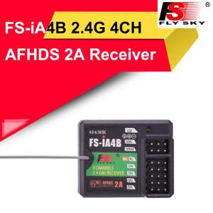 FS-iA4B Receiver 2.4GHz 4CH for FS-I10 FS-IT4 FS-GT2F FS-GT2G Remote Controller