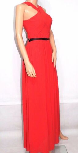 Dress Little Tomato in Maxi cintura con Uk10 Mistress Cross Back rOOAPIq