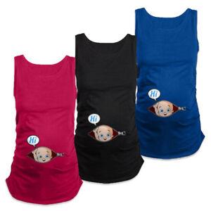 Women-039-s-Handy-Summer-Plus-Size-Pregnant-Clothes-Tank-Top-Maternity-Wear-Vest-NEW