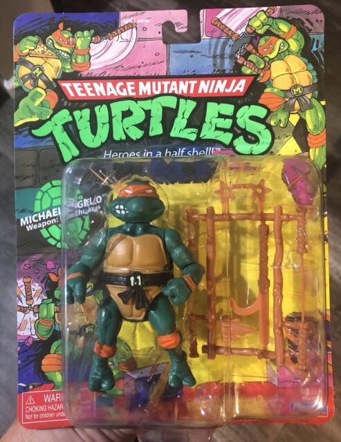 Teenage Mutant Ninja Turtles Michaelangelo 2021 Playmates Classic Figure Walmart