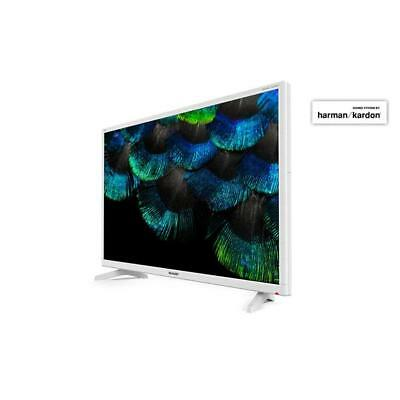 SHARP AQUOS LC-32HI3222EW TV LED 32'' HD READY 100Hz WHITE BIANCO DVB-T/T2/C/S2