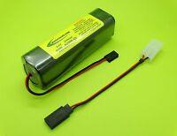 Sanyo 2700ma Futaba Transmitter Tx Battery Fits 8u 9c Nt8ib Cells Made In Japan
