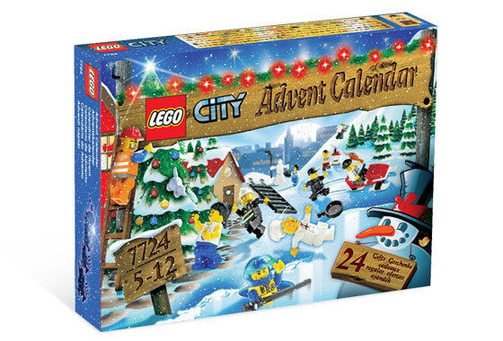 NEW Lego CITY ADVENT CALENDAR 2008 7724