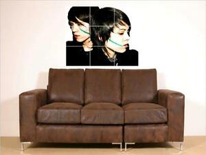 TEGAN-AND-SARA-HUGE-35-034-X25-034-MOSAIC-WALL-POSTER-N3