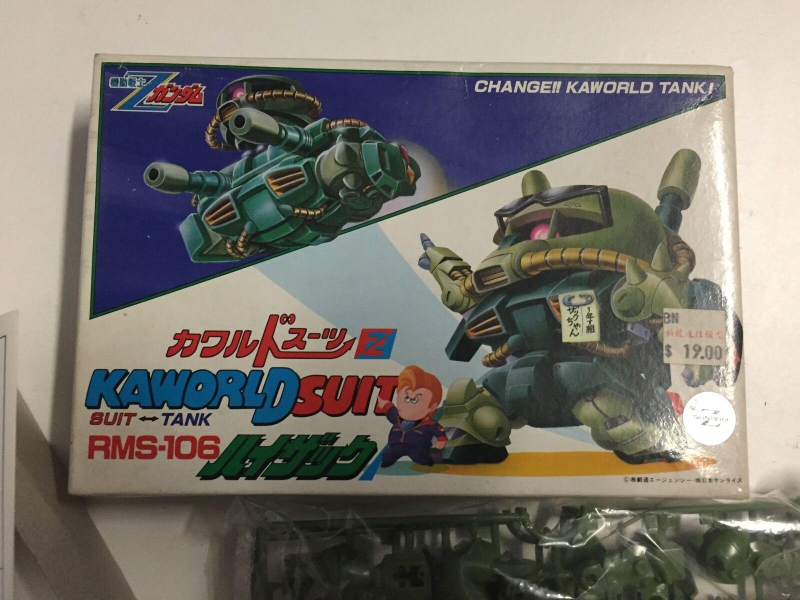 Gundam Kamondo Distintivo RMS 106 Molto raro e annata nuovo scatolae