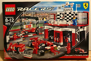 Lego Racers Ferrari Finish Line 8672 Italian Grand Prix Neu 2006 Selten A D Ebay